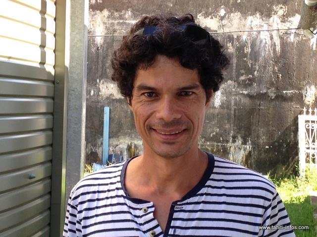 Vatea Escande, directeur de la régie de l'eau à Mahina, a sous sa responsabilité une équipe de sept agents qui, ces temps-ci, est surchargée par les nombreuses fuites présentes sur la commune.