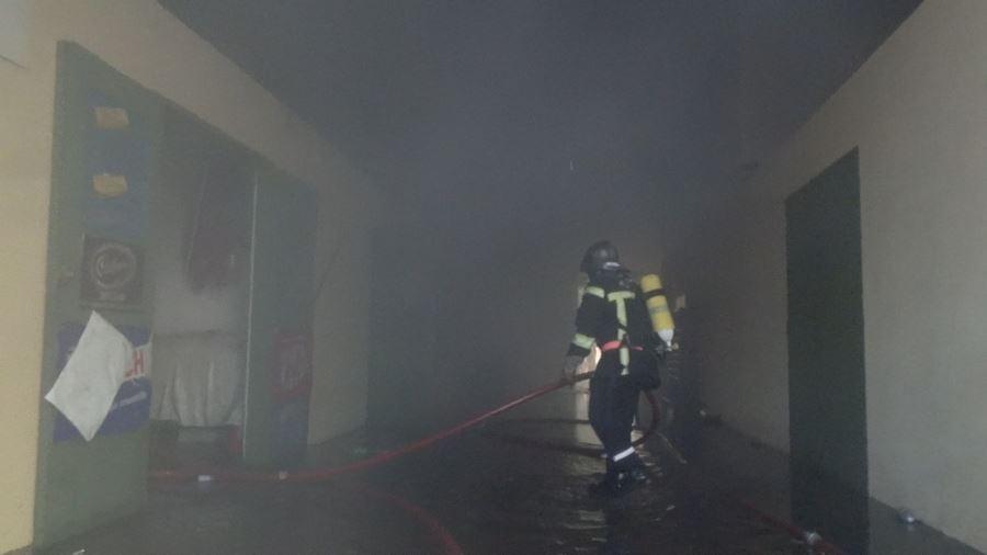 Le magasin Pierrot ravagé par un incendie à Uturoa