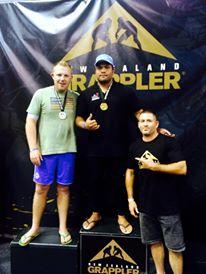 Grappling : Une autre médaille d'Or pour le « chasseur de géants »
