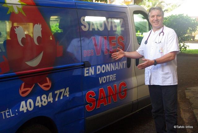 """Don du sang : """"la transfusion sanguine est une cause polynésienne"""""""