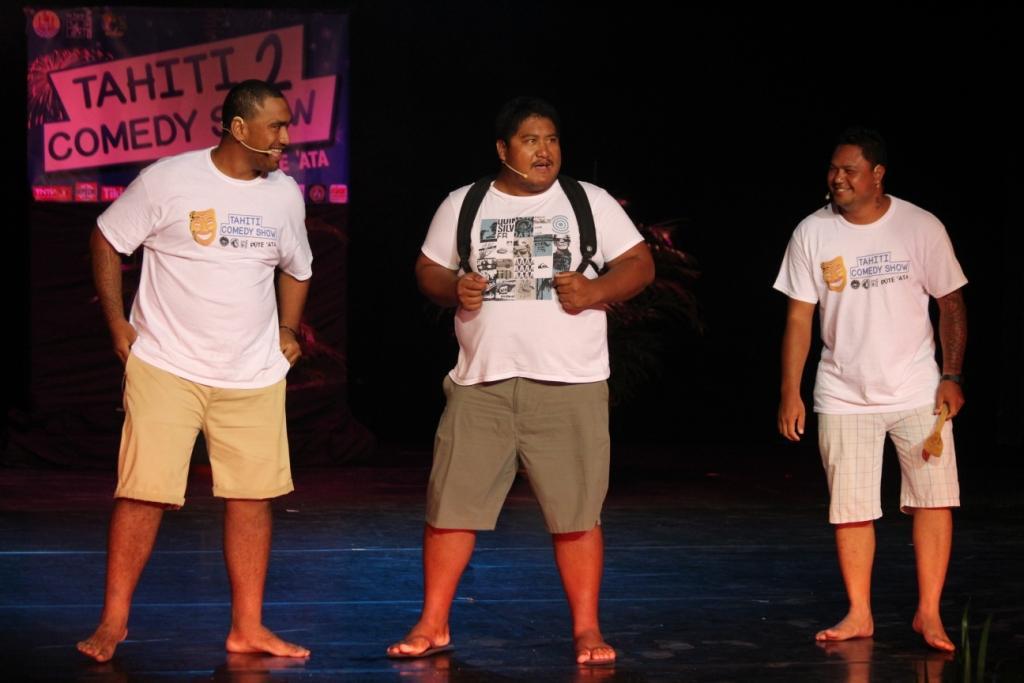 Matahi TAMAHAHE, Ernest MAIHUTI, Maui TUFAKAMARU alias TTC