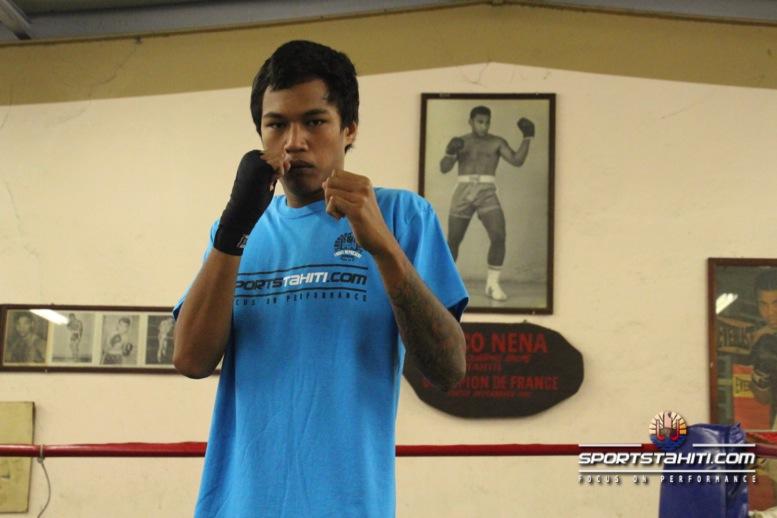 Boxe : Teahu Faufau de Central Olympic, vainqueur en Nouvelle Calédonie