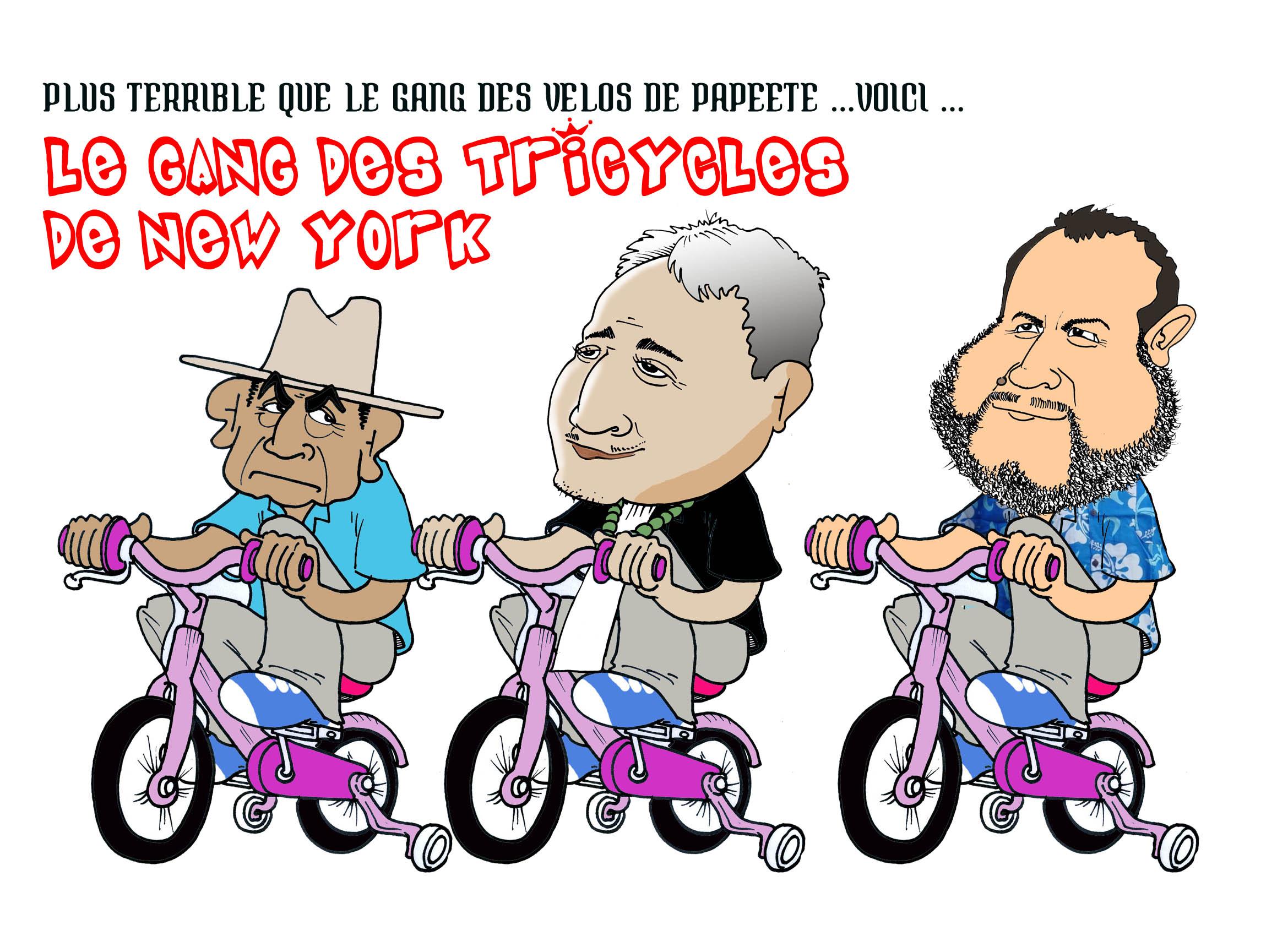 """""""Le gang des tricycles"""" par Munoz"""