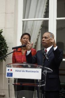L'ancien ministre des Outre-mer s'était vu confier en juin par le Premier ministre Manuel Valls une mission parlementaire.