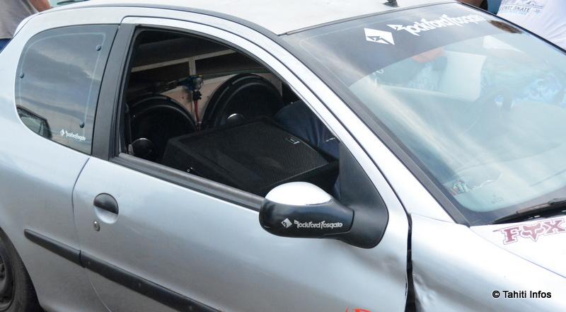 La car audio de Mahiata