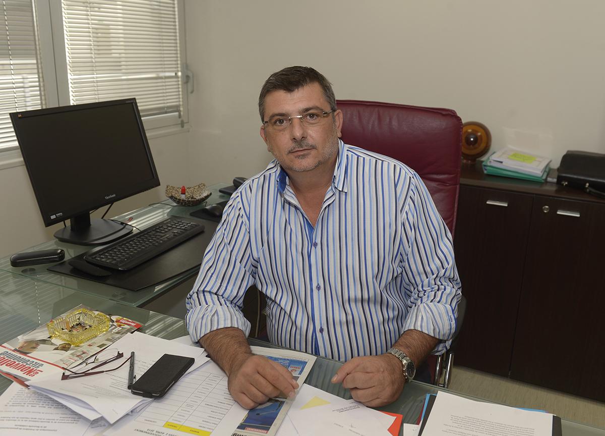 le président calédonien, Philippe Germain.