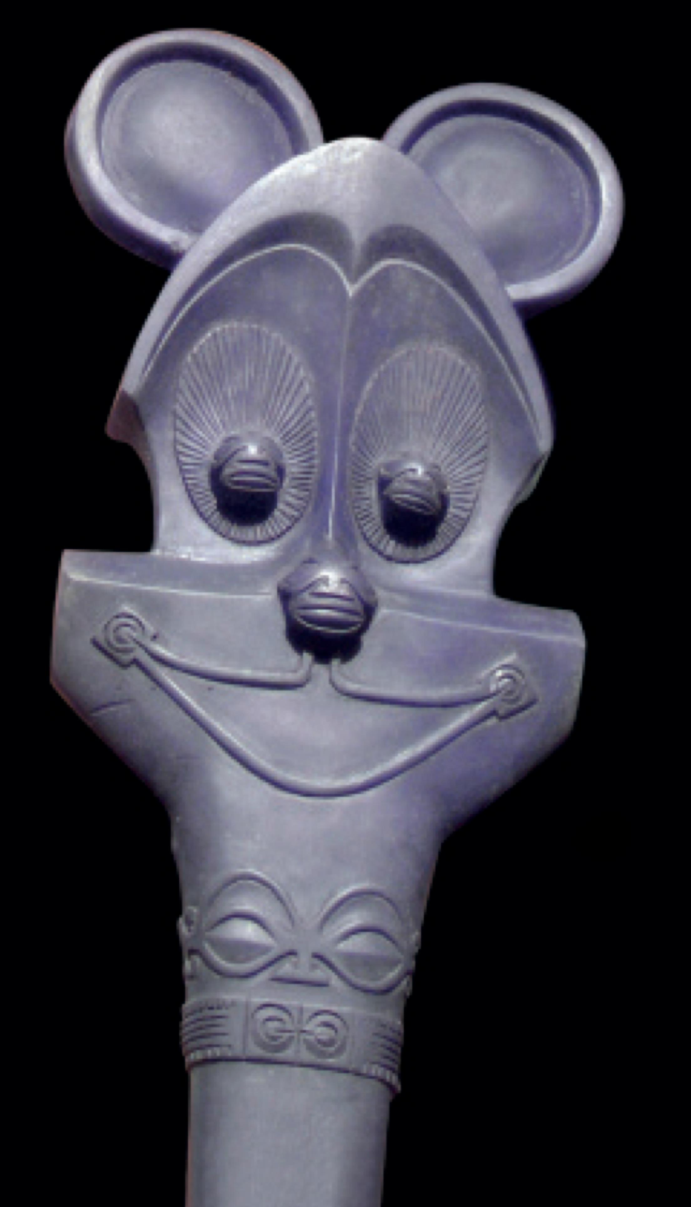 Massue de Mickey Mouse, 'u'u, Andreas Dettloff (1995).