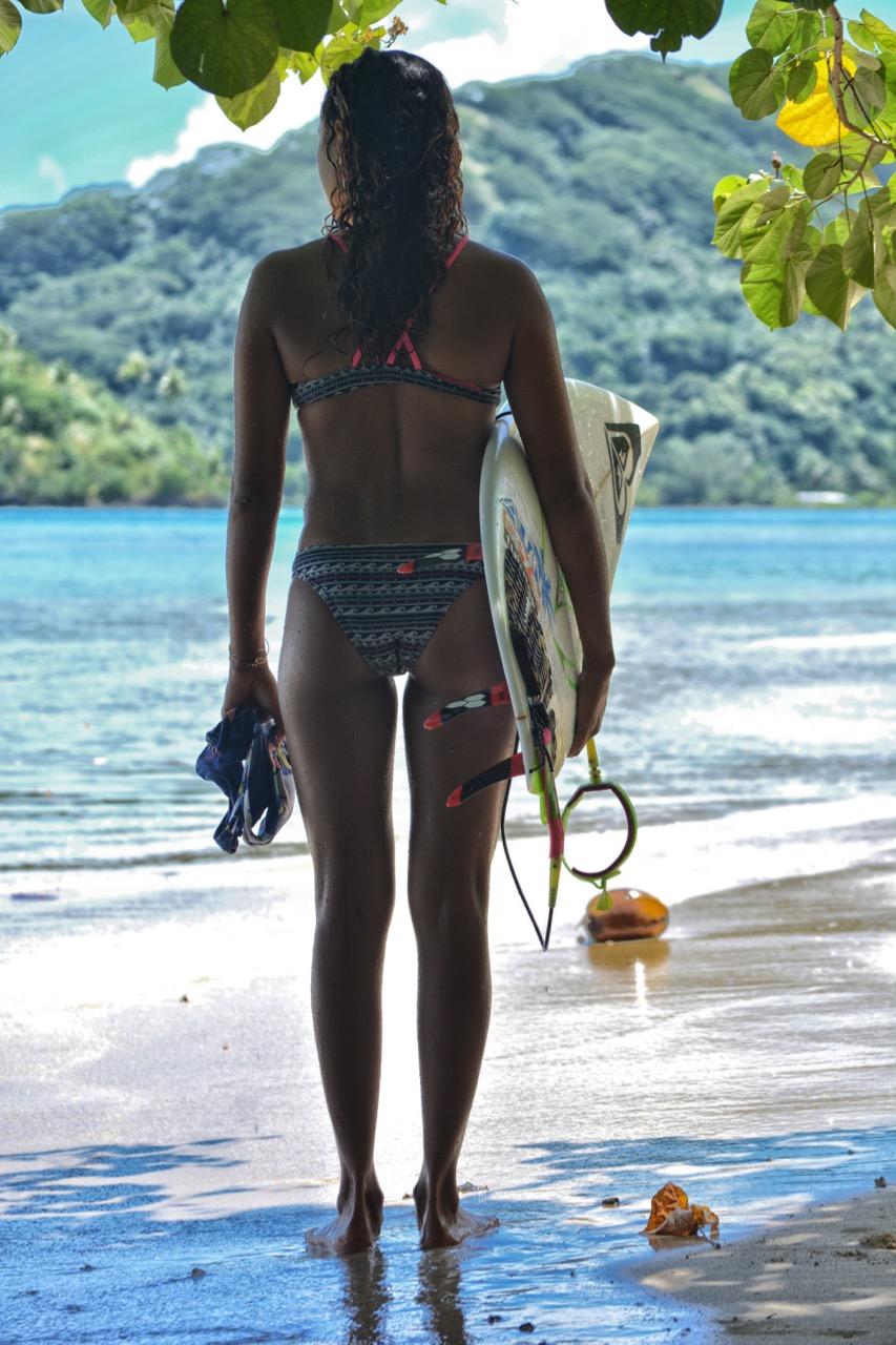 Vaine Fierro veut mettre le maximum de chances de son côté pour réussir à faire carrière dans le surf