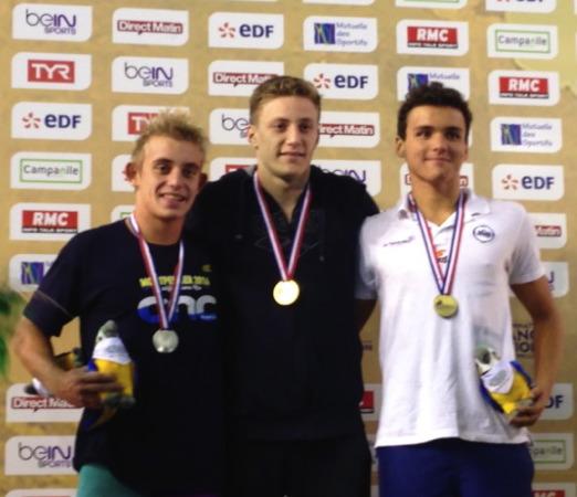 Natation « chpts de France » : Nicolas Vermorel prend le bronze sur 100m Papillon