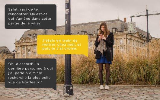 """Bordeaux: la """"semaine digitale"""" fait parler les lampadaires, les parcmètres, les abribus"""