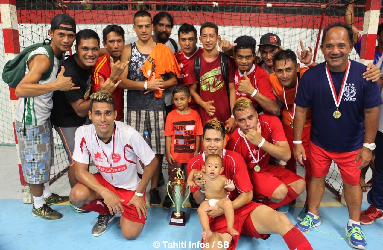 Punaauia remporte la finale du futsal en s'imposant 4-1 face à Rapa