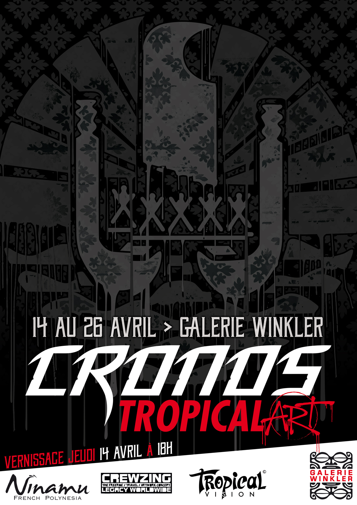 """Tropical Art"" by Cronos du 14 au 26 avril"