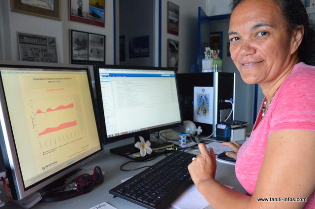 Victoire Laurent, chef de la division étude et climatologie à Météo-France.