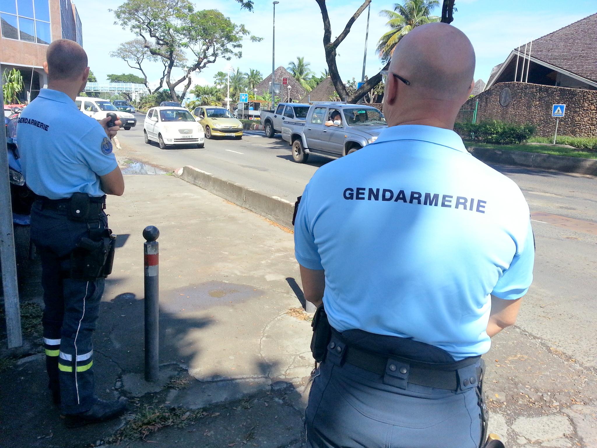 La gendarmerie multiplie les contrôles aux entrées de Papeete