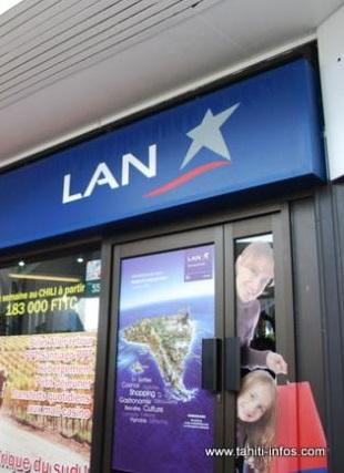 Le vol de Lan Airlines reprogrammé ce mardi soir