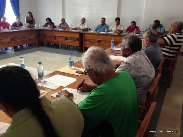 Plus question de faire partie de la communauté des communes. Le conseil municipal de Hitia'a o te Ra a tranché ce matin.