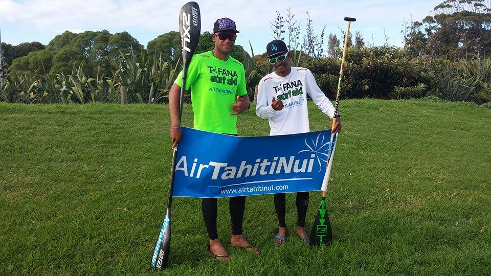 Auckland King of the Harbour : Niuhiti Buillard 1er en SUP et Hiromana Flores 9ème en surfski