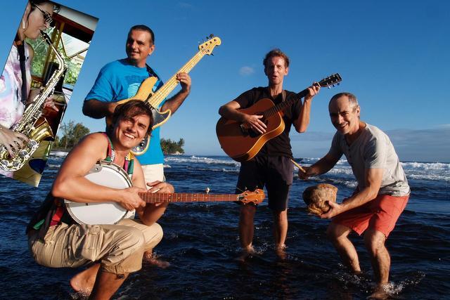 Les Papara-zzi en concert au golf de Papara