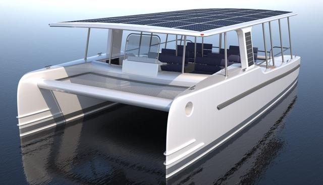 Le SoelCat 12 serait le premier bateau touristique 100% écologique