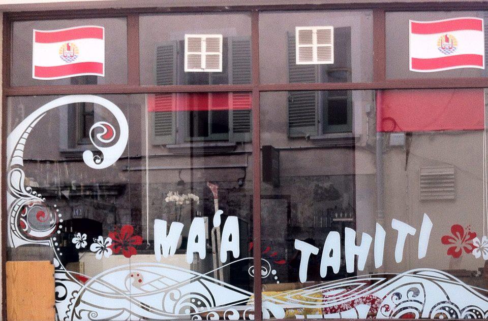 Le restaurant Ma'a Tahiti, à Toulon