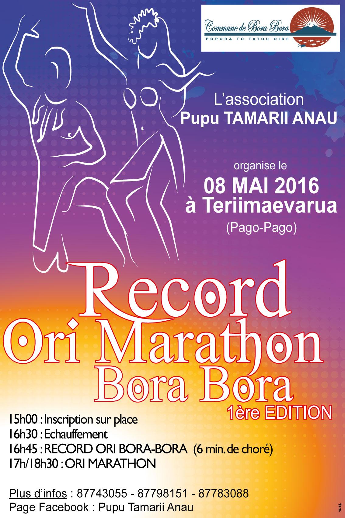 'ori tahiti : Bora Bora vise aussi un record !