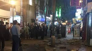 Japon: nuit d'angoisse en vue pour les habitants de Mashiki après le séisme