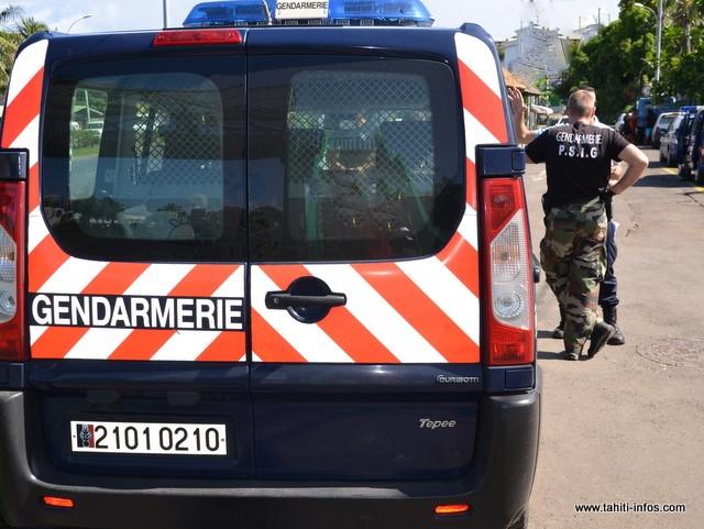 Les gendarmes sont intervenus dans le cadre de leur mission de maintien de l'ordre. (Archives)