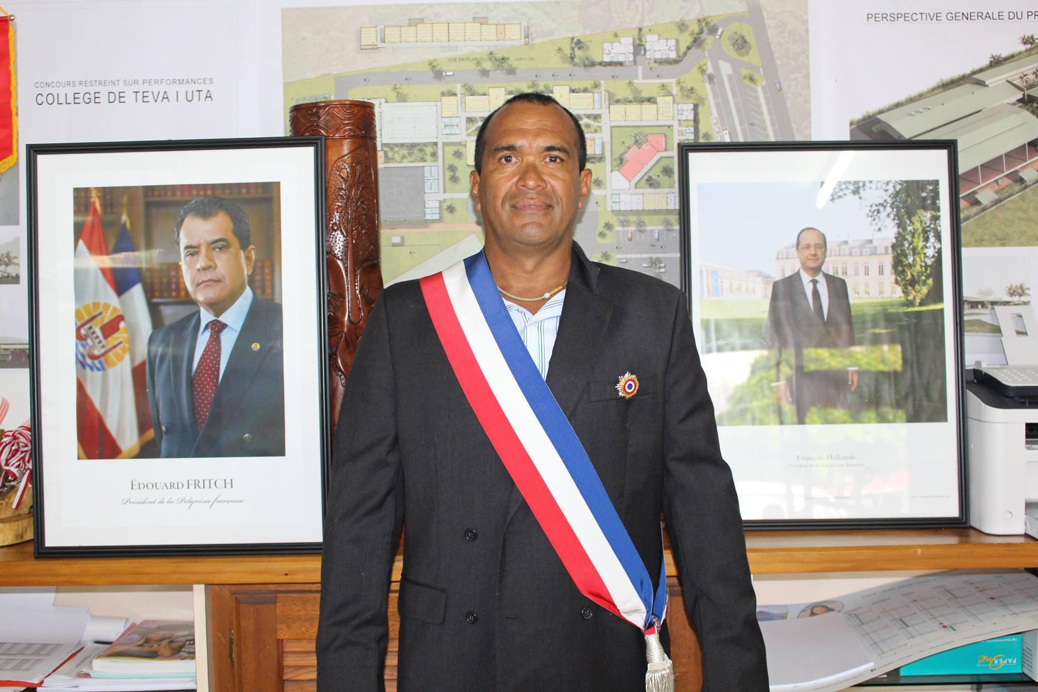 Teva i Uta : Bruno Chapman remplace Jonas Tahuaitu au poste de 8e adjoint au maire