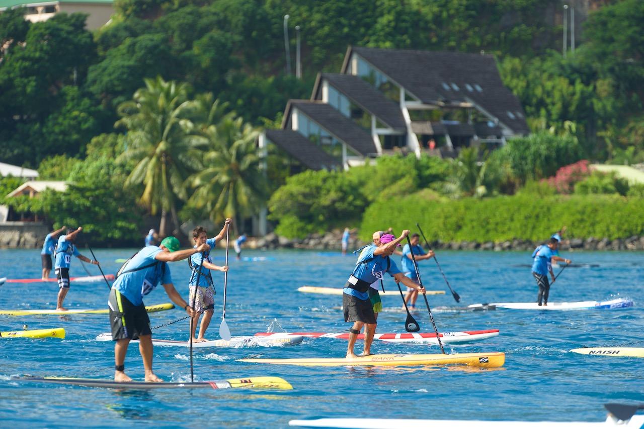 Ce festival est l'événement stand up paddle le plus important du Pacifique sud. (Photo : Tim McKenna)