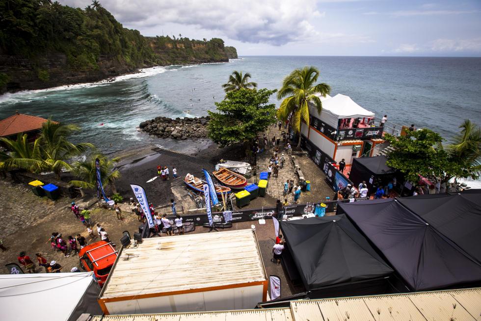 Le spot Martiniquais  n'a pas réussi aux Tahitiens