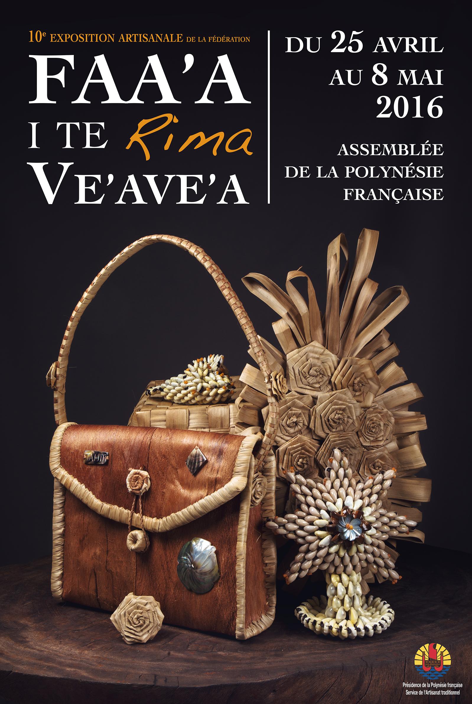 10ème exposition artisanale Faa'a I te Rima Ve'ave'a