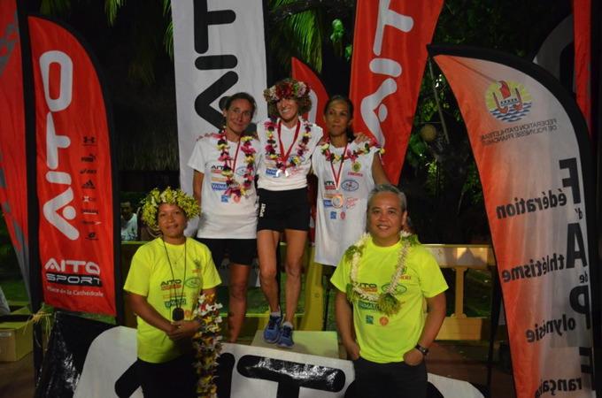 Sophie Gardon, en grande forme remporte la course. ©Aitosport