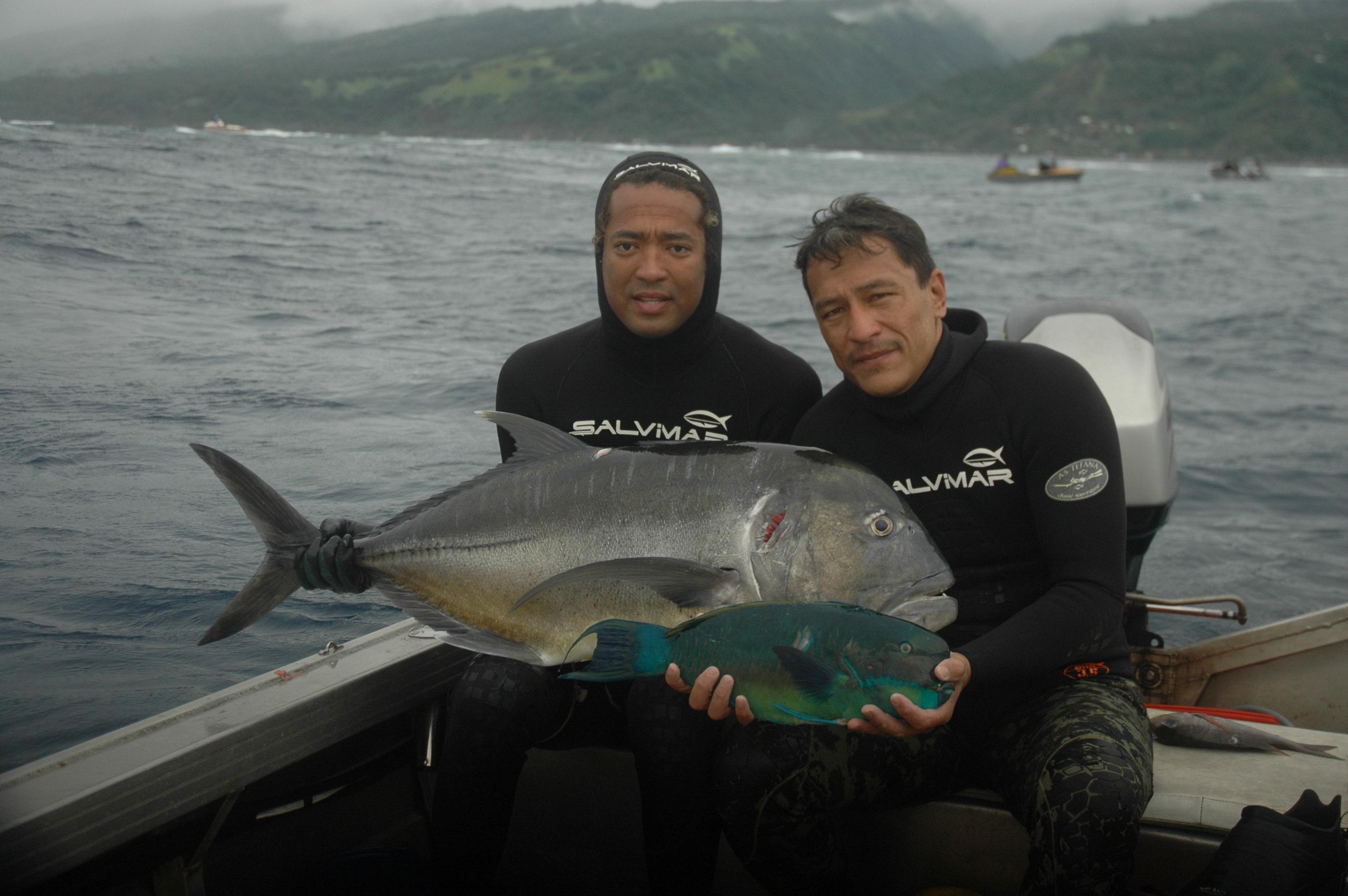Pêche sous marine: 3ième et 4ième manche du Championnat de Polynésie en individuel 2016 et sélectives pour le mondial