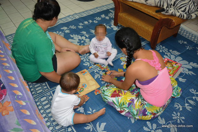 Le foyer Maniniaura peut accueillir jusqu'à huit jeunes filles avec leurs nourrissons