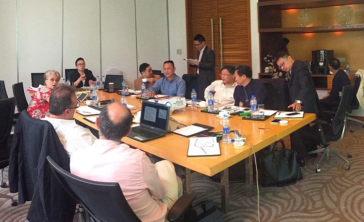 A Shanghai les réunions de travail s'enchaînent pour le projet aquacole de Hao
