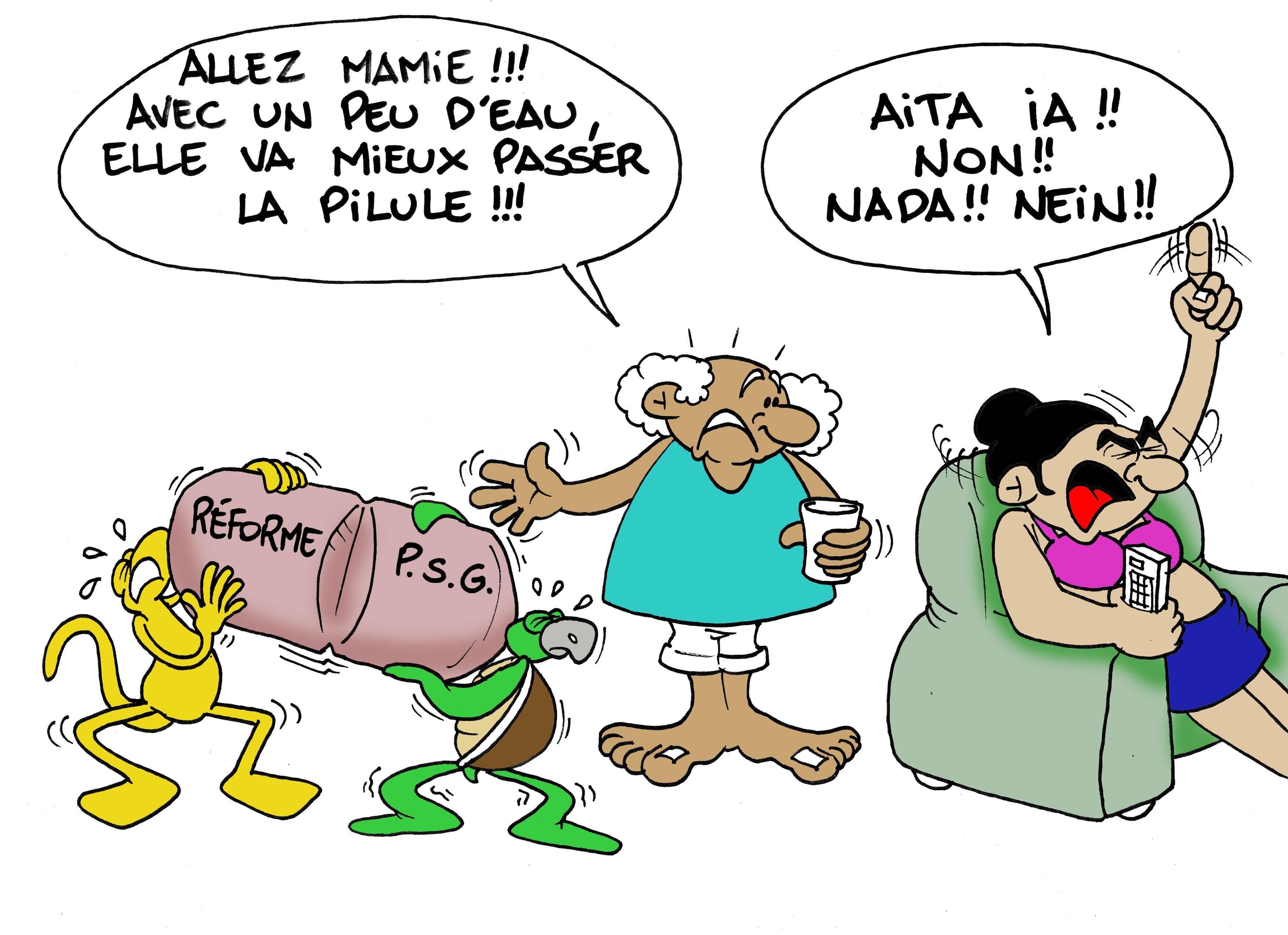 """""""La réforme de la PSG"""" par Munoz"""