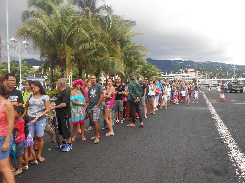 Près de 600 personnes ont visité le Tenacious
