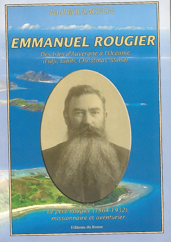 La couverture du livre consacré à Emmanuel Rougier, un document précieux, dû au petit-neveu de l'abbé.