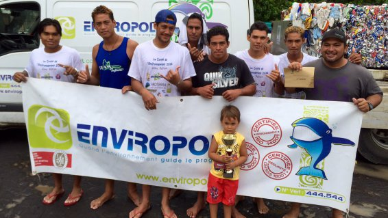 Va'a « Coupe de l'environnement » : Shell Va'a et Team Tupuai s'imposent