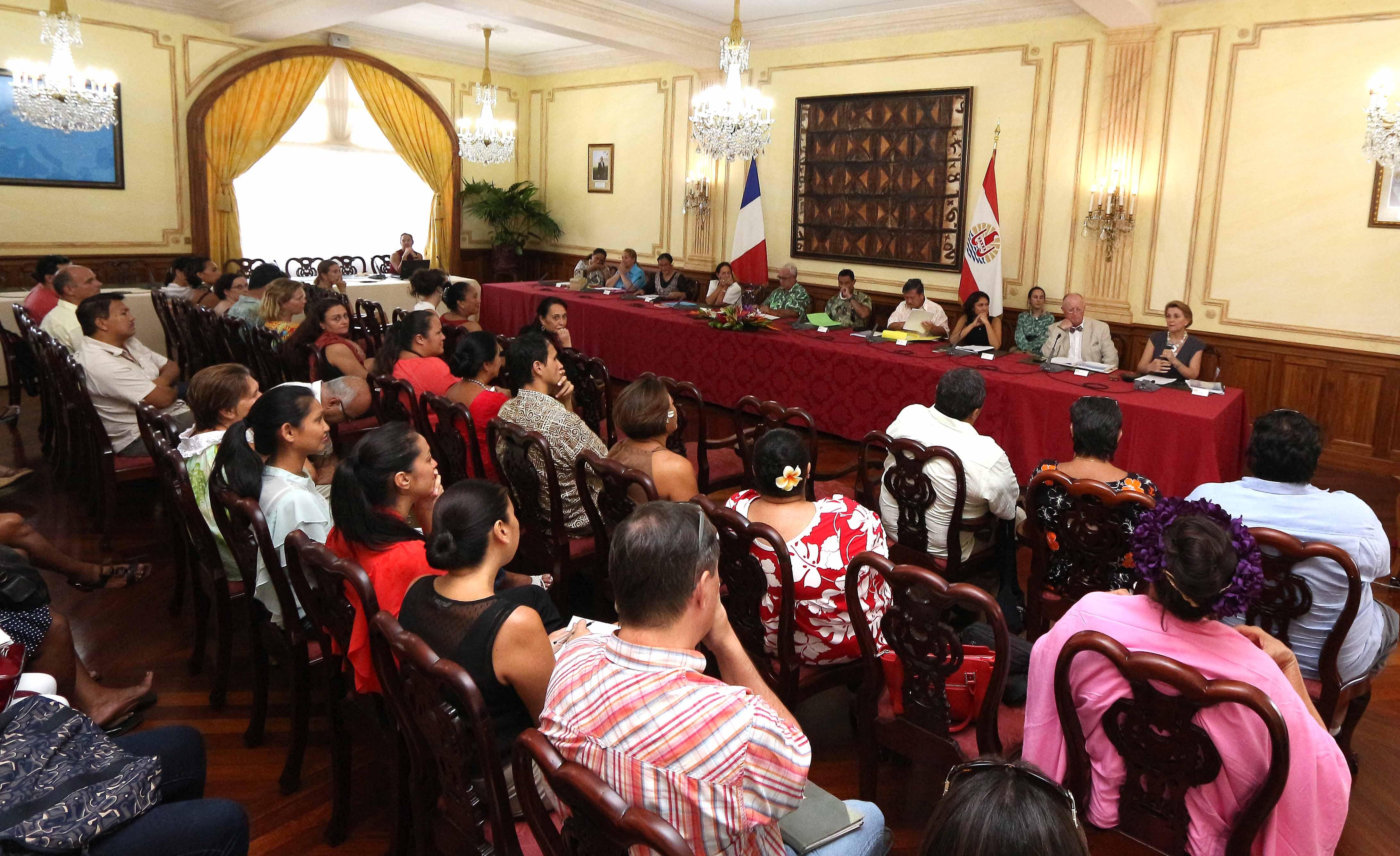 Restitution des travaux du COPIL de la conférence de la famille polynésienne
