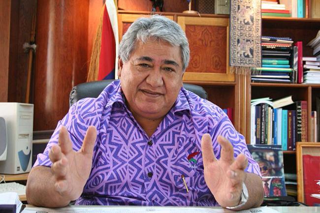 Lors d'un entretien avec Tuilaepa Aiona Sailele Malielegaoi, premier ministre samoan (photo), Colin Tukuitonga débattra des progrès et des enjeux en matière de développement régional et national.
