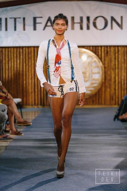 Défilé Tahiti Fashion Week - crédit : Teikidev.