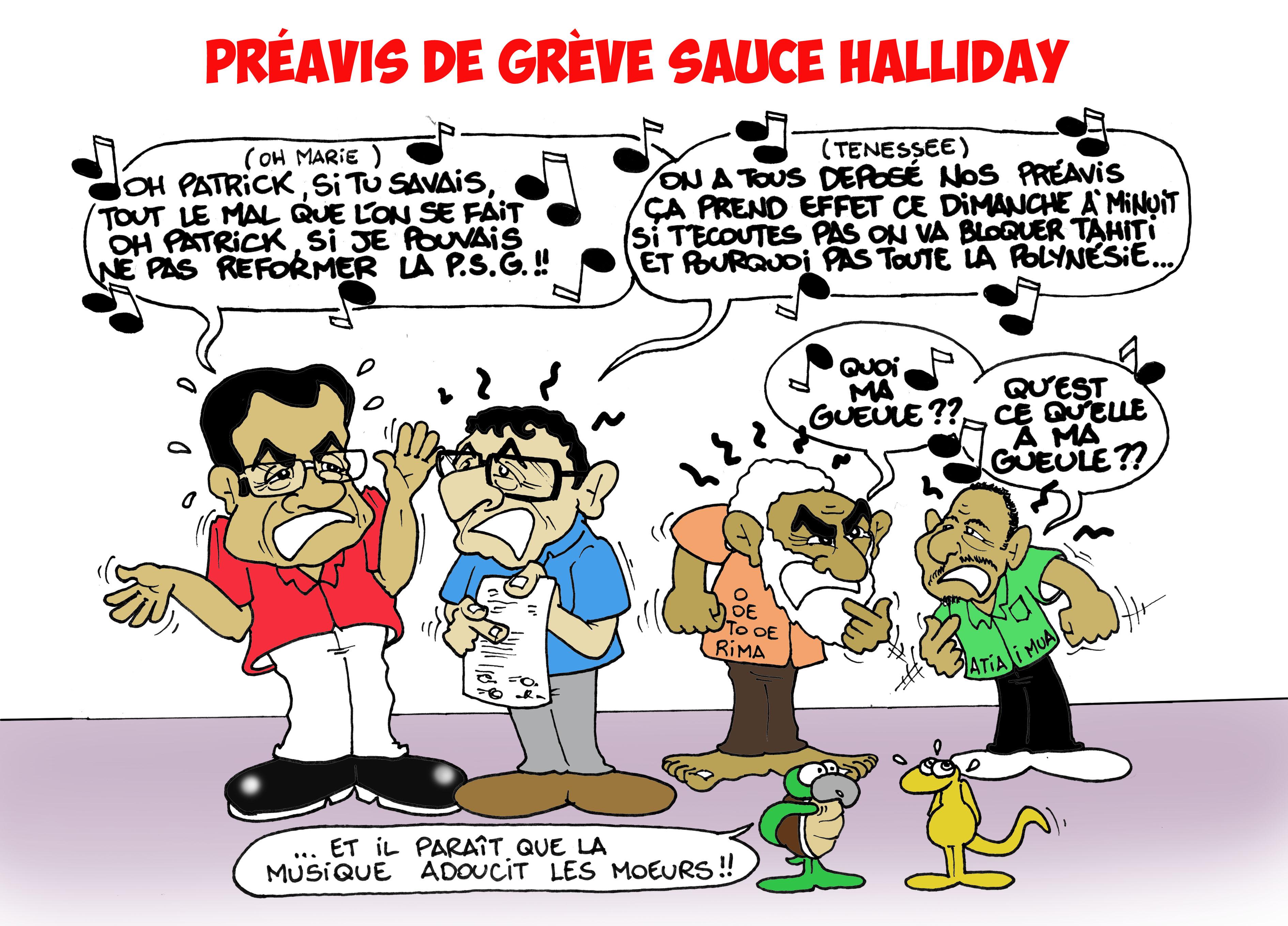 """""""Préavis de grève"""" par Munoz"""