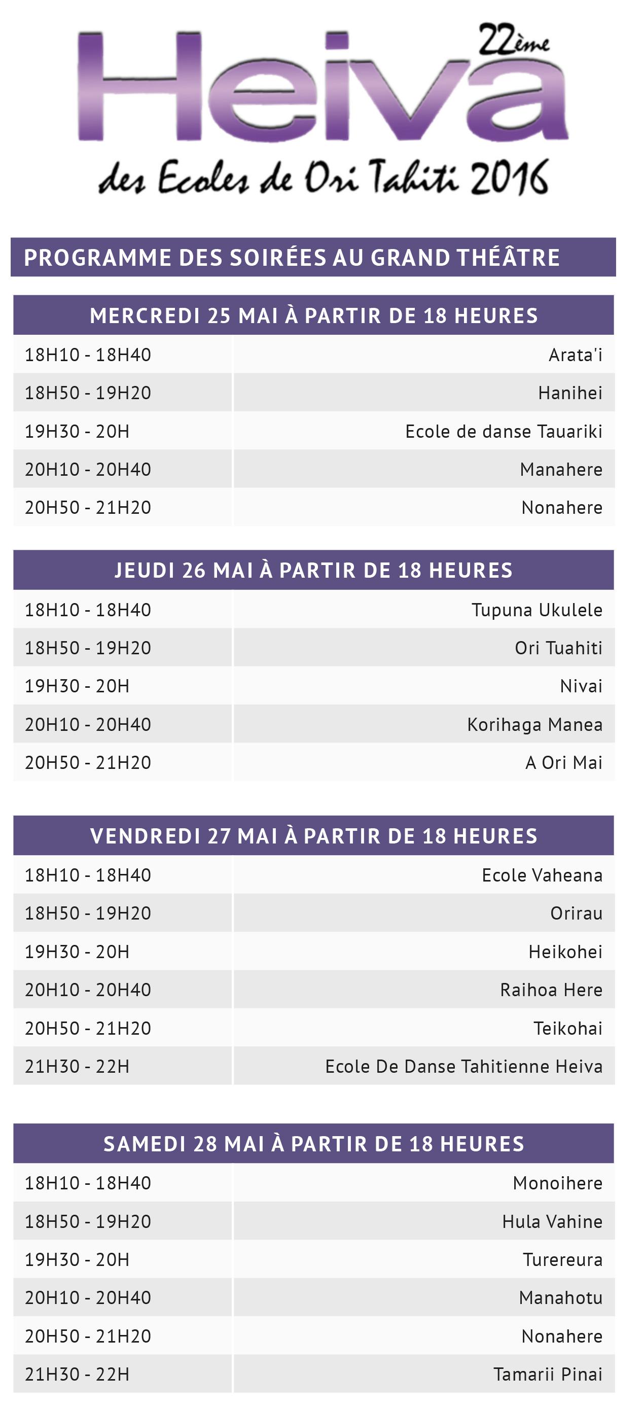 Participation record pour le Heiva des écoles et le gala du Conservatoire !