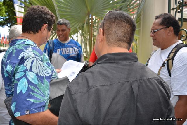 Les leaders de la CSTP-FO ont rencontré ce lundi matin, le conseiller technique en charge de l'agriculture dans le cadre de la grève au SDR, effective depuis samedi minuit.