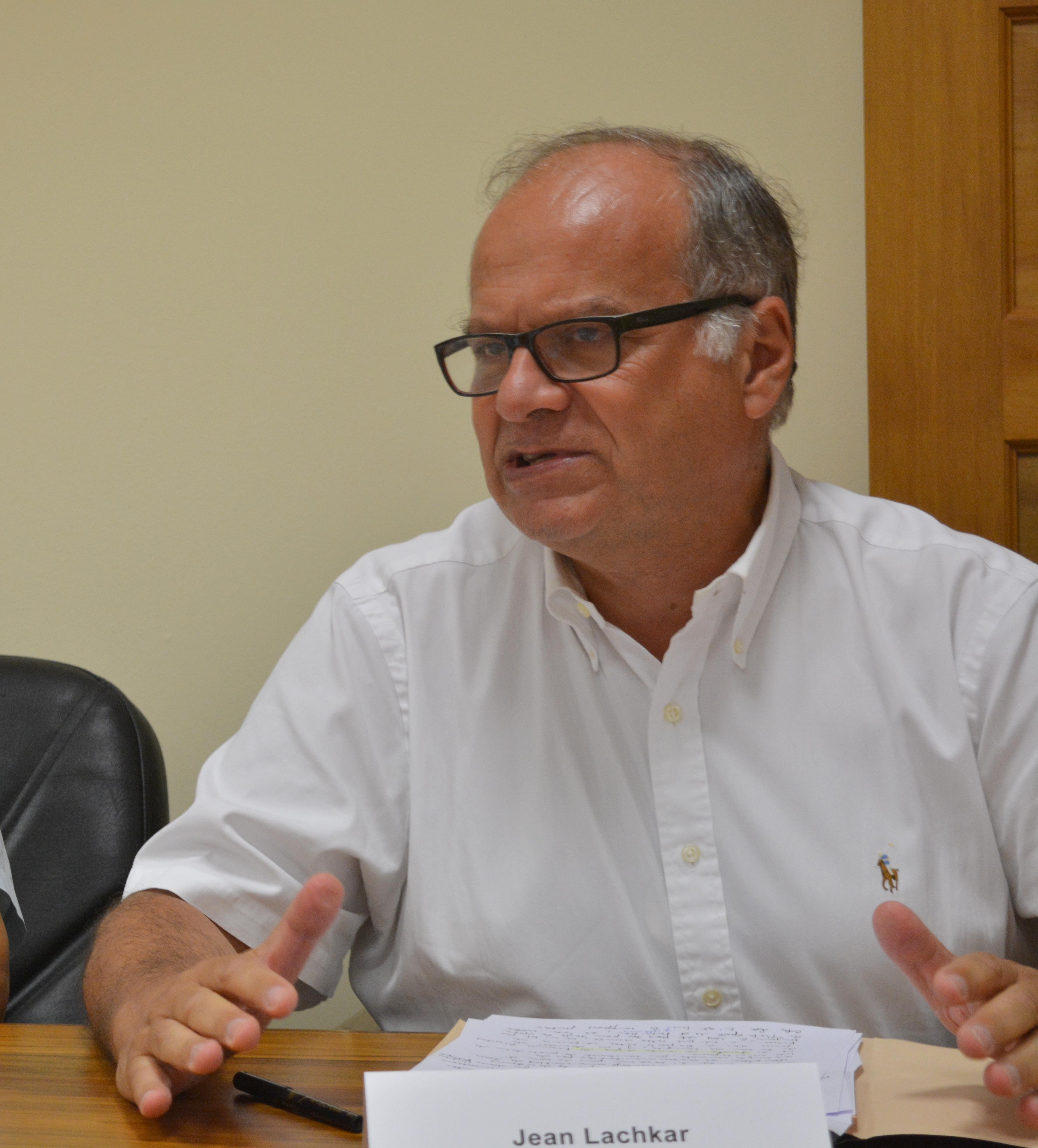 Jean Lachkar, président de la chambre territoriale des comptes en Polynésie.