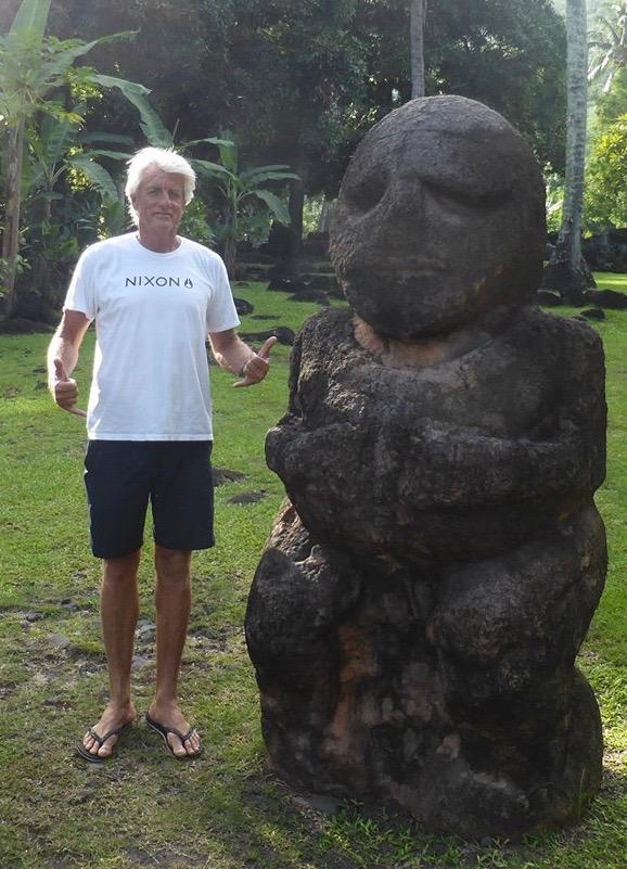 La légende Marc Cunningham, spécial guest à Tahiti © Jean Lucchini