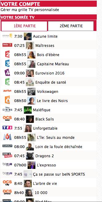 Grille programme tv a imprimer - Programme canal plus grille ...
