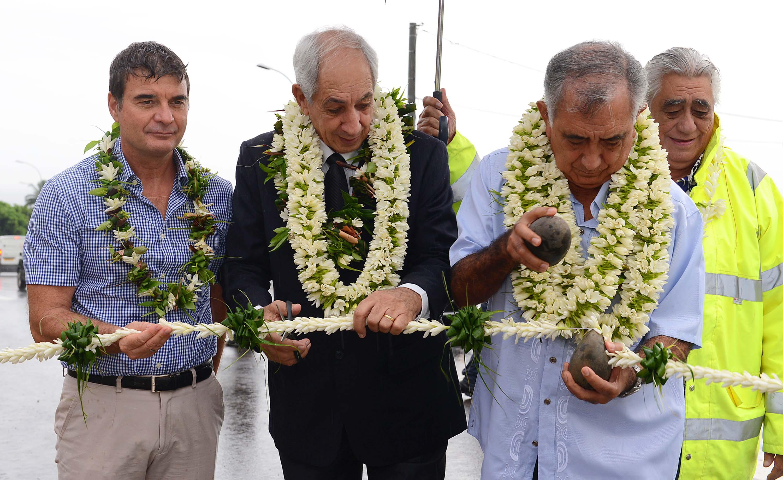 L'Etat, le Pays et la commune étaient présents pour l'inauguration de l'échangeur.