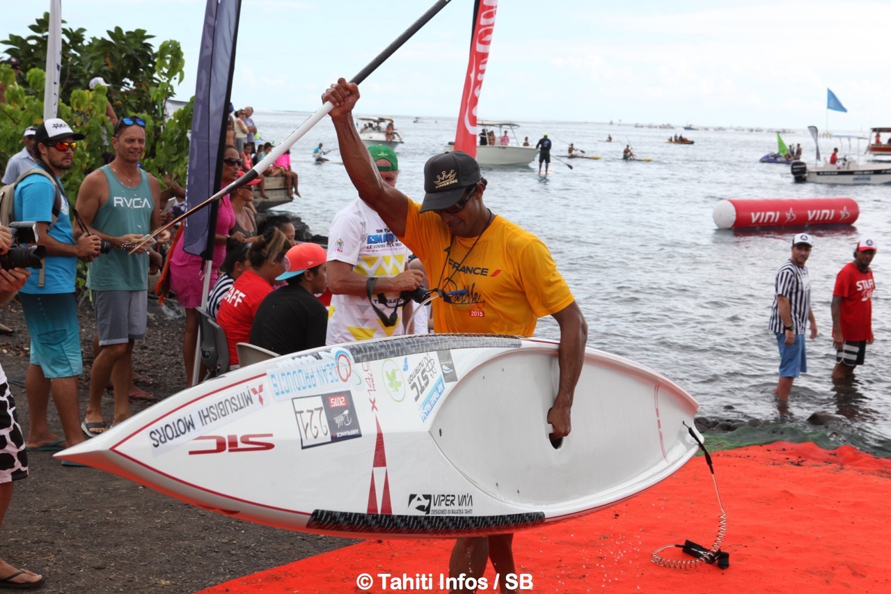 Georges Cronsteadt, le précurseur du Sup Race à Tahiti